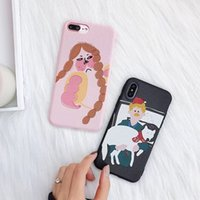 Wholesale Iphone Anime Casing - Anime Phone Case For iPhone X 8 7 6 6S Plus Cute Cartoon Soft Candy TPU Phone Back Cover Cases Capa Free Shipping