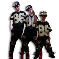 Wholesale Kids Hip Hop Dance Pants - New Fashion Women Kids Harem Hip Hop Dance Pants Sweatpants Costumes Trousers