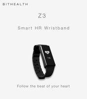 tela z3 venda por atacado-Pulseira Inteligente Pulseira Z3 Bluetooth OLED Tela Touch Key Rastreador De Fitness Saúde Monitor de Sono Relógio Inteligente Pulseira de Esportes Pulseira de Freqüência Cardíaca 2017