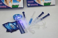 Wholesale Teeth Whitening Laser Kits - Wholesale-50Packs lot 35%AT-HOME Teeth Whitening Kit - Gel, Trays (4pcs 3ml+2Trays)+Laser Light MY373