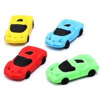 Wholesale Novelty Animal Erasers - 3d novelty kid funny animal car shape eraser
