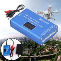 rc lipo batterie 4s großhandel-Mini Balance Ladegerät Spannungsprüfer BC-4S15D für 2S / 3S / 4S Lipo Batterie mit LCD Display / Metallgehäuse / Adapter für RC Modell