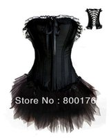 Wholesale Costume Free Shiping - Wholesale-Free shiping walsonstyles a018 Burlesque Corset & tutu Fancy dress costume Can Can outfit instyles