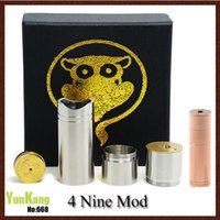 4nine mod full mécanique Magneto 4 neuf mods clone VS mutant atomo vanille stingray nemesis Fit Kayfun Ithaka Atomizer Turbine à vapeur Omega