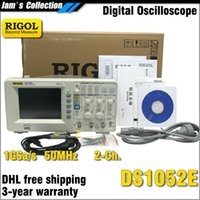 RIGOL DS1052E 50MHz 2channels usb digitale oscilloscopio oscilloscopio digitale oscilloscopio dual channel auto scope