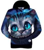 Wholesale Cat Cardigans - Best gift Totoro funny cat High quality brand 3D printed cotton sportswear outdoor coat winter sweatshirts tracksuit for man women hoodies