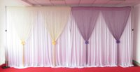 Wholesale 2 m high m wide tassel backdrop used for wedding party banquet