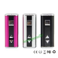 Wholesale Ego Battery Sizes - Mini Eleaf istick 10w Mod 1050mah Battery Small Size ismoka Mini Eleaf istick fit all EGO 510 E Cigarette For Aspire Atomizers