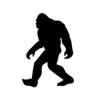 Wholesale Trucks Wall Decals - Wholesale Car Stickers Bigfoot Sasquatch Yeti Vinyl Decal Sticker For Car Suv Truck Boat Window Bumper Home Wall