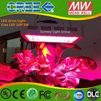 Wholesale Cree Growing Light - led grow light 300W cree 9 Band Full Spectrum LED Grow Lights Red Blue White UV IR Led Plant Growing Lighting Lamps AC85-265V
