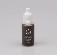 Wholesale Micro Pigments - Wholesale-5 pcs lot BioTouch Permanent Makeup Pigment Tattoo Ink Set 15ML BROWN Micro Pigment Used for Microblade Pen Machine Tattoo Inks