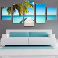 5 Painel the-palm-ponton black art nude painting Modern Home Wall Decor Canvas Impressão artística Wall Painting Canvas Unframed