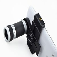 Wholesale 8x Lens For Galaxy S3 - Camera Lens 8X Telescope Zoom Telephoto for iPhone 4 4S 5 5S 5C 6 Samsung Galaxy S S2 S3 S4 S5 Note 2 3 Mobile Phone Smartphone