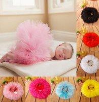 Wholesale Cm Photo - Baby Girls TuTu Skirt Princess Dress Dance Tutu Skirt Fluffy Pettiskirt Dancewear baby Photo Photography Prop dress KKA3445
