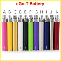 Wholesale ego ce4 clearomizers - EGO-T EGO t battery E Cigarette 650 900 1100mAh e cig Battery for 510 ego ce4 ce5 mini protank atomizer clearomizers Top quality