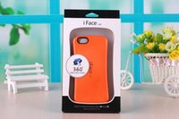 Wholesale Iface Note2 - iface Case For iPhone 6s 6s Plus 4 5 5C For Galaxy S3 S4 S5 S6 S6 edge Note2 3 4 Colorful High Quality with retail package 20pcs