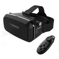 Wholesale Helmet Google - Shinecon VR Virtual Reality 3D Glasses Helmet Google Cardboard Rift DK2 for iPhone Samsung 4.7 ~ 6 inch Smartphone VR Headset