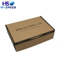 Wholesale Originals Pro - 5pcs VU SOLO PRO V3 DVB-S2 Satellite Receiver HD Linux Enigma2 751MHz MIPS 2xUSB 2.0 Blackhole Openpli Original Software