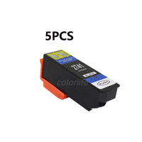 Wholesale Epson Xp - Free shipping,5 PCS of High Yield T2741 Black compatible ink cartridge for XP-600 XP-700 XP-800