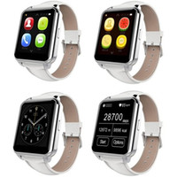 Wholesale Android Cell Phones Waterproof - F2 Smartwatch 2016 Waterproof Bluetooth Smart Watch Cell Phone with Heart Rate Monitor Anti-loss For IOS and Android