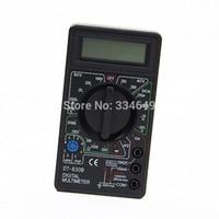 medidor de panel de pantalla lcd al por mayor-Multímetro Digital Profesional DT830B AC / DC Amperímetro Voltímetro Ohm Tester Eléctrico Medidor Superventas