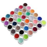 Wholesale Ezflow Builder - Wholesale-New Arrivals Nail Art (3 6pcs  colors in a set) EZFLOW Nail Gel Mix Colors UV Builder Gel