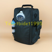 portable oxygen concentrator battery oxygen cart - BATTERY OPERATED PORTABLE OXYGEN CONCENTRATOR GENERATOR HOME CAR TRAVEL with cart oxygen making machine