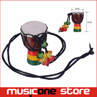 Wholesale Instrument Sales - MINI Jambe Drummer For Sale Djembe Percussion Musical Instrument African Hand Drum New Brand wholesale Free shipping MU1220