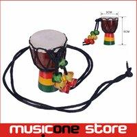 ingrosso mani libere africane-MINI Jambe Drummer in vendita Djembe percussioni a mano strumento musicale tamburo africano Nuovo commercio all'ingrosso di marca Spedizione gratuita MU1220