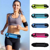 Wholesale Cellular Phones Wholesale - Waterproof Waist Bag For Outdoor Running Sport Pack Pouch Water Resistant Cellular Phone Case 200pcs OOA3757