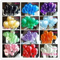 Wholesale Decorations For Birthdays - Free Shipping 300 Pcs Lot 1.5g Balloon Ball Helium Inflable Giant Latex Balloons For Wedding Birthday Party Decoration