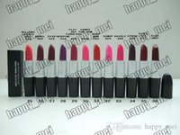 Wholesale Lipstick Tubes - Factory Direct DHL Free Shipping New Makeup Lips M111 Metal Tube Matte Lipstick!3g