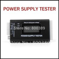 Wholesale PC Pin ATX SATA HD LCD Power Supply Tester