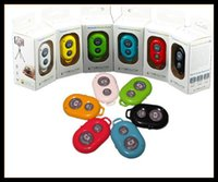 Wholesale wireless Bluetooth Remote photo Camera Control Self timer AB Shutter for iPhone S Galaxy S4 S5 Note3 M8 Android Smart phone MQ200