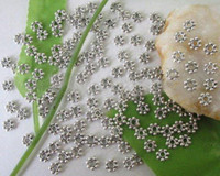 Wholesale Tibetan Silver Spacer Beads Wholesale - Wholesale - FREE SHIPPING 1000 pcs Tibetan silver Daisy spacer beads 4mm M228