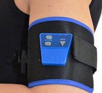 Wholesale Muscle Tone Massager Belt - Free shipping Massager Electronic Body Muscle Arm leg Waist Abdominal Massage Exercise Toning Belt Slim Fit