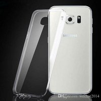 Wholesale s5 gel case online – custom 1000PCS Transparent TPU Gel Crystal Clear Ultra Thin mm Clear Soft Back Case Cover Skin for Samsung Galaxy S3 S4 S5 S6 Edge S7 Edge