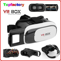 "Wholesale 3d Movies Wholesale Cheap - Cheap Head Mount VR BOX Version VR Virtual Reality Glasses Rift Google Cardboard 3D Movie for 3.5"" - 6.0"" Smart Phone"