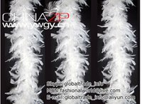 Wholesale Wholesale Feather Boas Cheap - Wholesale-Wholesale and Retail from Factory Cheap 40g White Turkey Feather Chandelle Boa