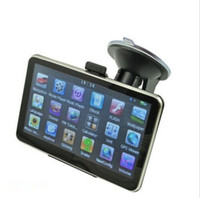 Wholesale car gps for sale - 5 Inch Car GPS Navigation Sytem Sat Nav FM Transmitter GB bundles free Maps
