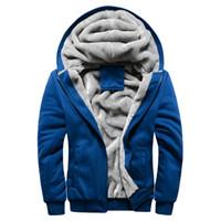 beiläufige weiche kapuzenmänner großhandel-Softshell-Hombre-Winter-Jacke für Mann-Mantel-beiläufige Hoodies Veste Homme Ceket Blouson-Sport-Baseball-Mann-Mann-Jacken und Mäntel