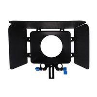 Wholesale Matte Box M1 - Commlite Matte Box Sunshade Universal M1 for SLR DSLR Cameras Camcorders