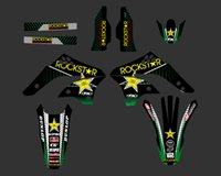 0239 Star New Style SQUADRA GRAFICA ARCHIVI DECALCOMANIE ADESIVI Kit per Kawasaki KX450F KXF450 2006 2007 2008