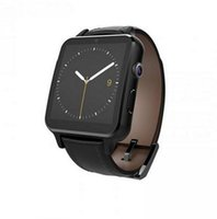 Wholesale Wrist Watch Camera 2mp - 2016 New Heart Rate Bluetooth Smart Watch A8 smartwatch with Leather Strap 2MP Camera Curved Surface for Android iOS Smartphone
