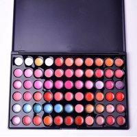 Wholesale Professional 66 Lipstick - New Professional Multicolor 66 Colors Cosmetic Lip Gloss Lipstick Palette Makeup Set Women Beauty Accessories X70*HJ0337W#M2