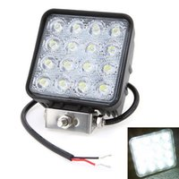 Wholesale Truck Lights For Sale - Sale Promotoion! 4.5 inch 48W LED Work Light 12V 24V Flood Spot Beam LED Car Light For Off Road USE LED Work Lights for Trucks