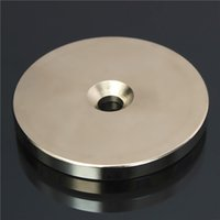 Wholesale Disc Magnet Hole - N52 50mmx5mm Countersunk Ring Magnet Disc Hole 6mm Rare Earth Neodymium Magnet
