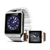 handy-uhr preise großhandel-DZ09 Smart Watch Dz09 Uhren Armband Android iPhone Uhr Smart SIM Intelligentes Handy Schlaf Zustand Herzfrequenz Blutdruck Monito