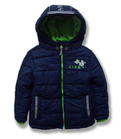 Wholesale Kids Motorcycle Jackets - Retail Topolino brand kids parka baby boy hooded coat new 2016 winter baby motorcycle jackets outerwear for children clothing 2-7Y 201507HX