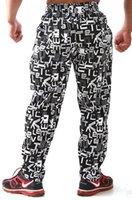 Wholesale Pants Baggies - Wholesale-E0494 Men's long pants for Fitness & Bodybuilding Training pants Leisure sports Running trousers baggies wholesale